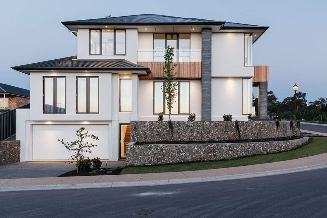 Sloping block builder adelaide beechwood homes adelaide for Build a house on your land